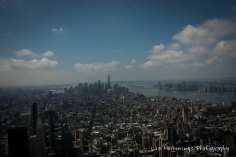 View from 86th floor viewing platform