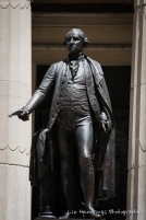 George Washington outside Federal Hall National Memmorial