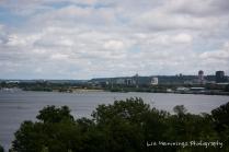 Hamilton lookout over Lake Ontario