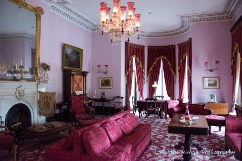 Dundurn Castle ladies sitting room