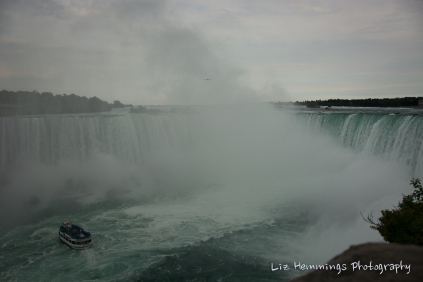 Niagra Falls from Canadian Side