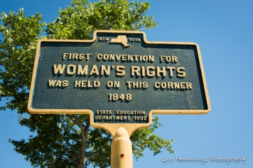Site of the first Woman's Rights Convention