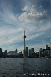 Toronto Ferry - CN Tower