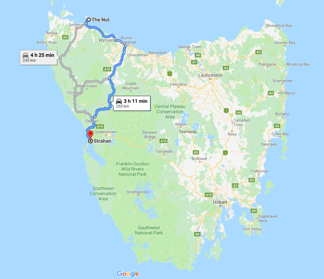 Stanley to Strahan Map.PNG