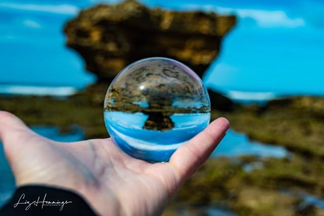 Aireys Inlet Beach Lens Ball